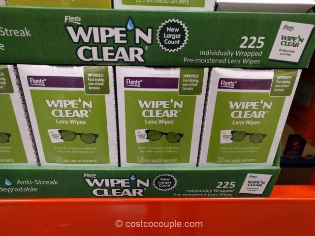 Wipe N Clear Lens Wipes Costco 2