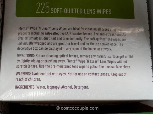 Wipe N Clear Lens Wipes Costco 3
