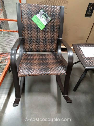 3-Piece Woven Rocker Set Costco 3