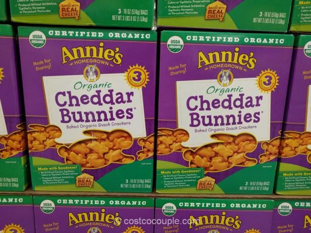 Annie's Organic Cheddar Bunnies Costco 2