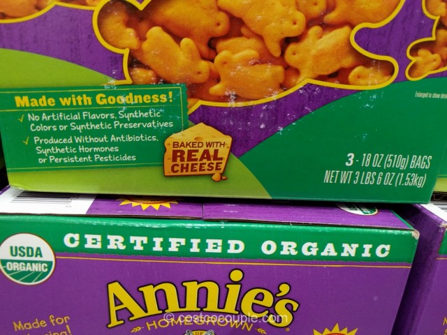 Annie's Organic Cheddar Bunnies Costco 3