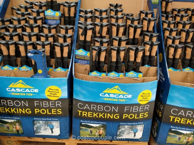 Cascade Mountain Carbon Fiber Trekking Poles Costco 6