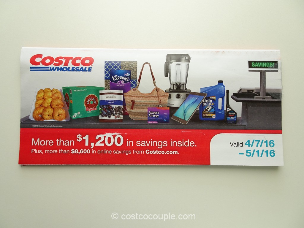 Costco April 2016 Coupon Book 1