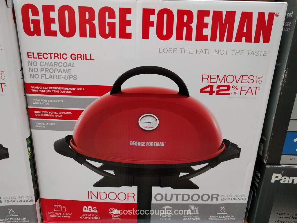 George Foreman Electric Grill Costco 2