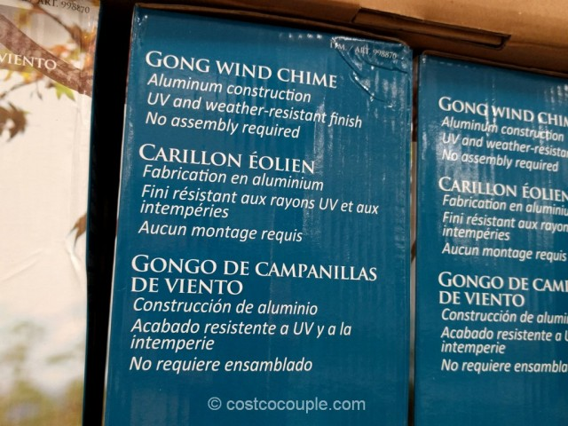 Gong Wind Chime Costco 4