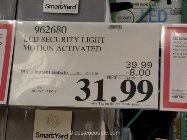 Home Zone Security Motion Activated LED Light Costco 6