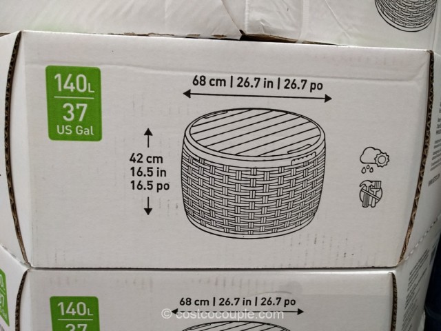 Keter Outdoor Storage Unit Costco 7