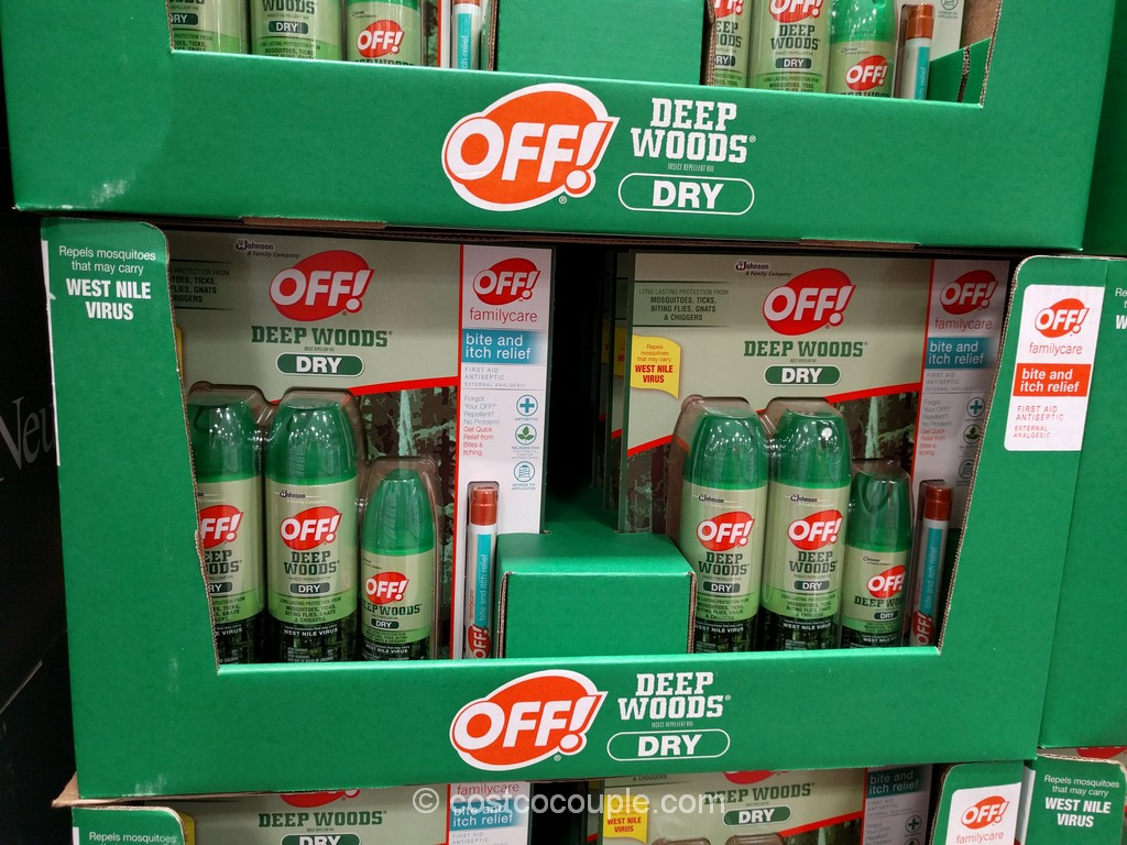 Off Deep Woods Dry Insect Repellent Costco 2