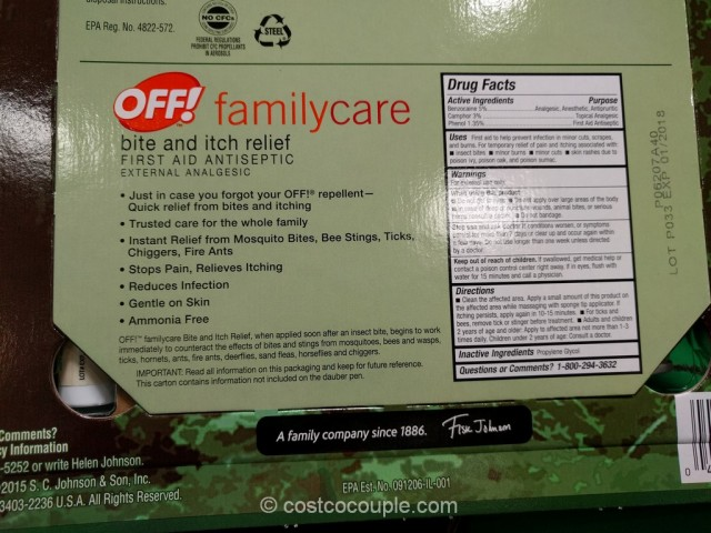 Off Deep Woods Dry Insect Repellent Costco 4