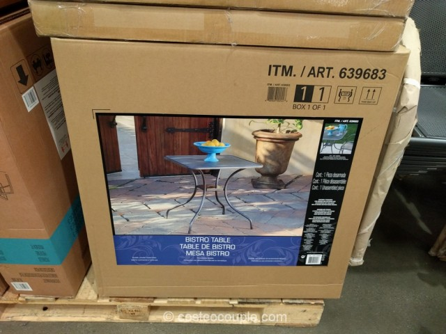 Sunvilla Mesh Bistro Table Costco 3