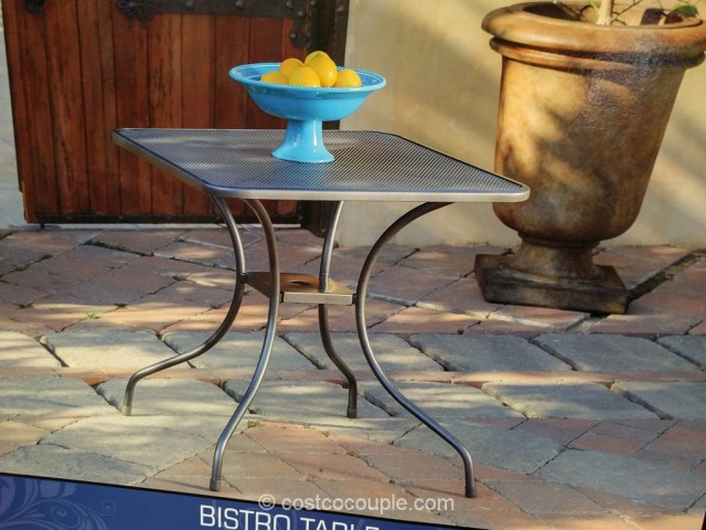 Sunvilla Mesh Bistro Table Costco 5