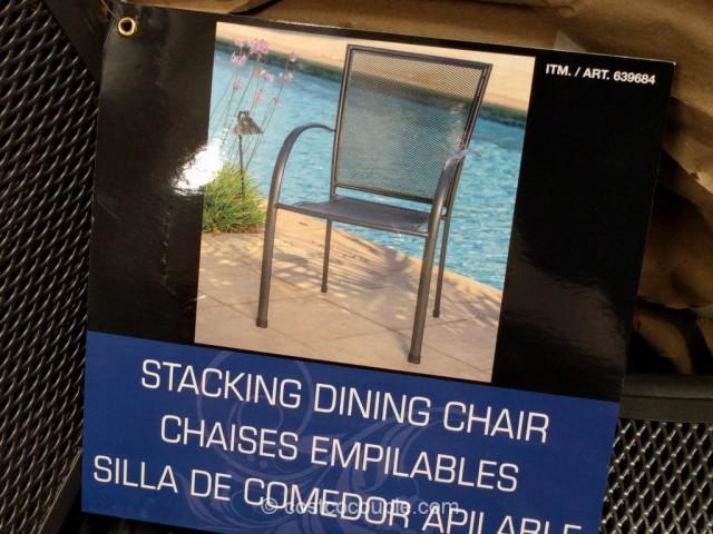Sunvilla Stacking Bistro Chair