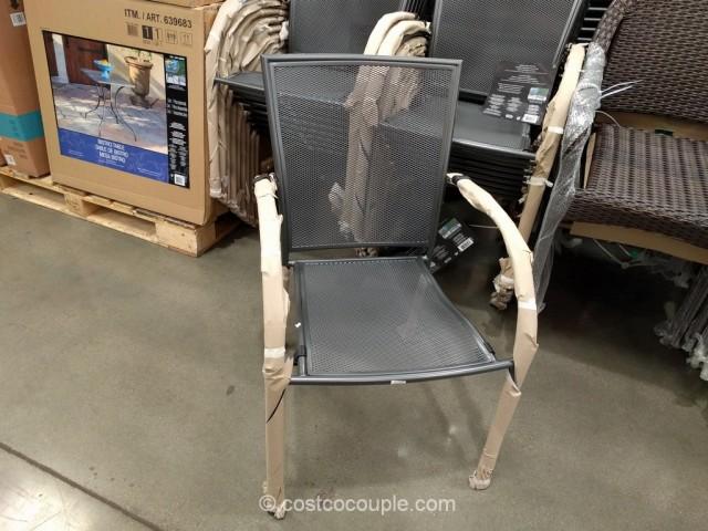 Sunvilla Stacking Bistro Chair Costco 5