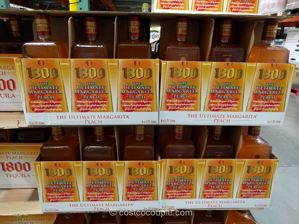 1800 Ultimate Peach Margarita Costco 2