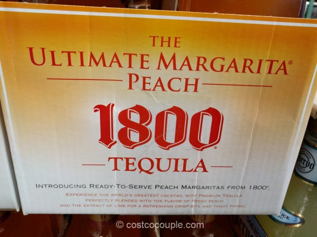 1800 Ultimate Peach Margarita Costco 3