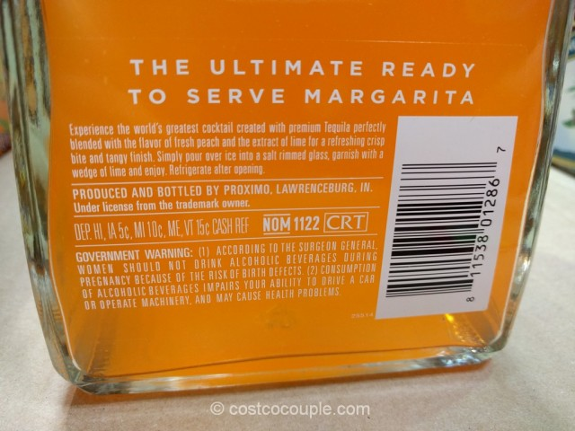 1800 Ultimate Peach Margarita Costco 5