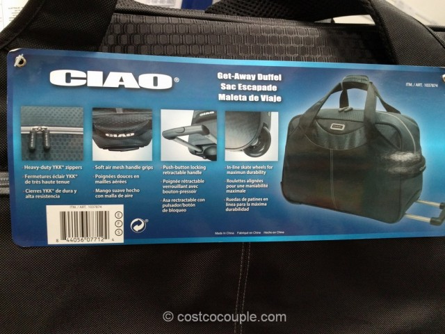 Ciao Get-Away Overnighter Costco 5