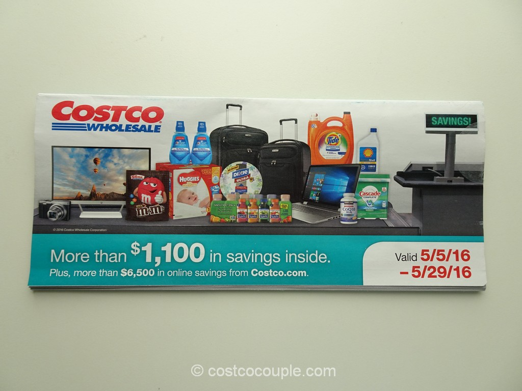 Costco May 2016 Coupon Book 1
