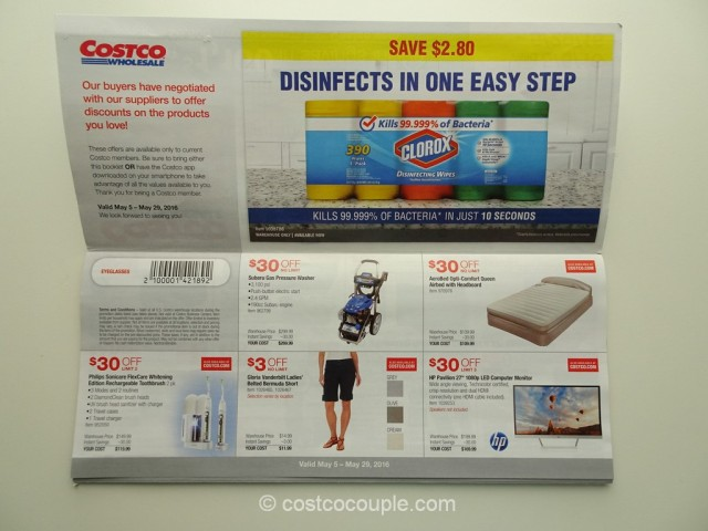 Costco May 2016 Coupon Book 2