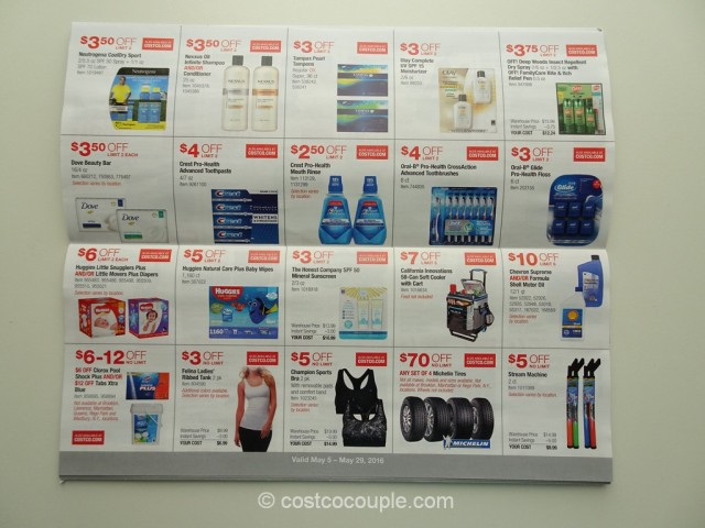 Costco May 2016 Coupon Book 4