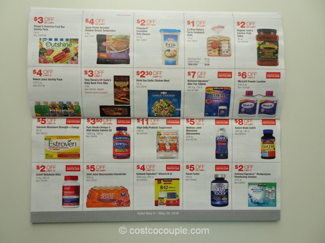 Costco May 2016 Coupon Book 8