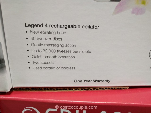 Epilady Legend 4 Epilator Costco 3