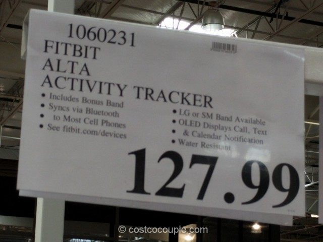 Fitbit Alta Activity Tracker Costco 1