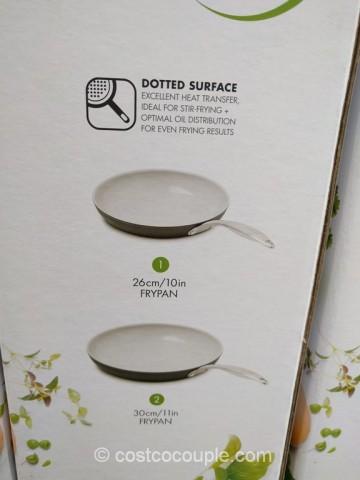 Green Pan Ceramic Non Stick Skillet Set
