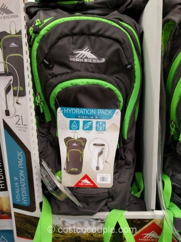 High Sierra Visalia 9 Hydration Pack Costco 3