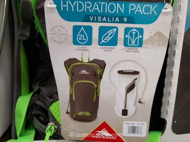 High Sierra Visalia 9 Hydration Pack