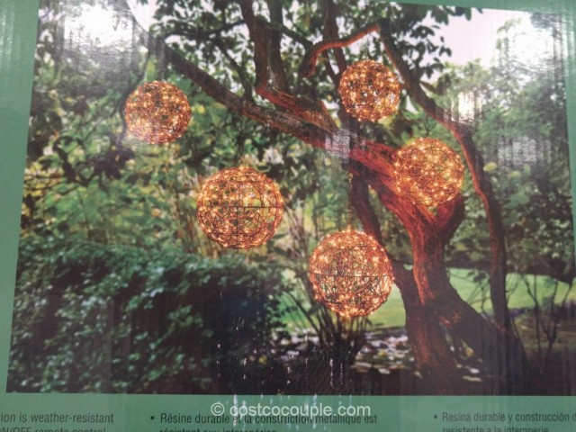 LED Lighted Spheres Costco 5