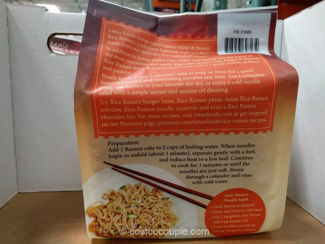 Lotus Foods Organic Rice Ramen Costco 3