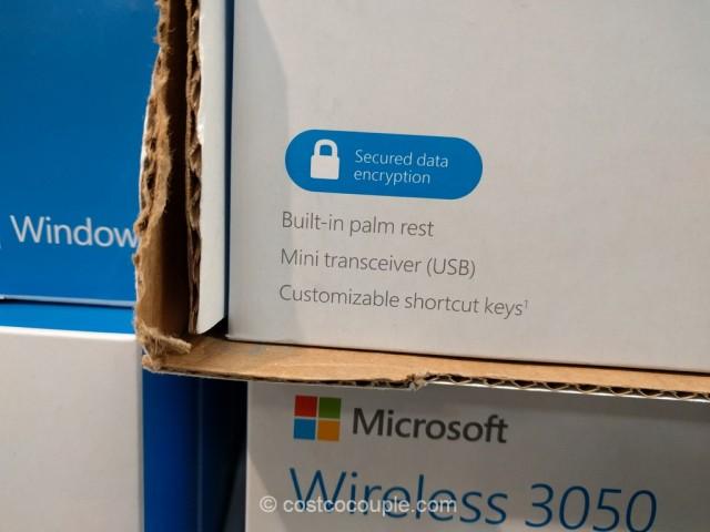 Microsoft Wireless Keyboard and Mouse Set Costco 2