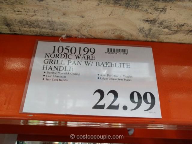 Nordic Ware Nonstick Grill Pan Costco 1