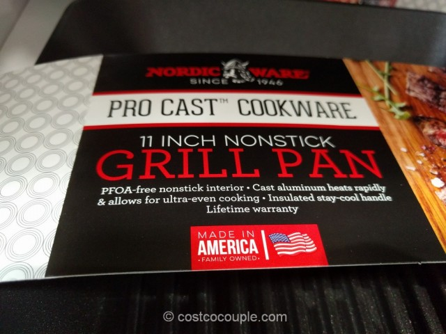 Nordic Ware Nonstick Grill Pan Costco 4