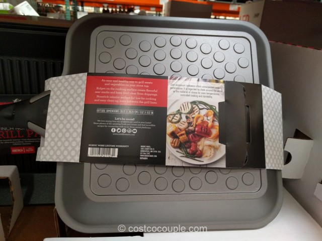 Nordic Ware Nonstick Grill Pan Costco 5