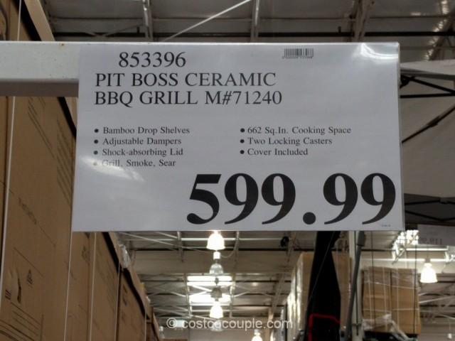 Pit Boss Ceramic Charcoal Bbq Grill