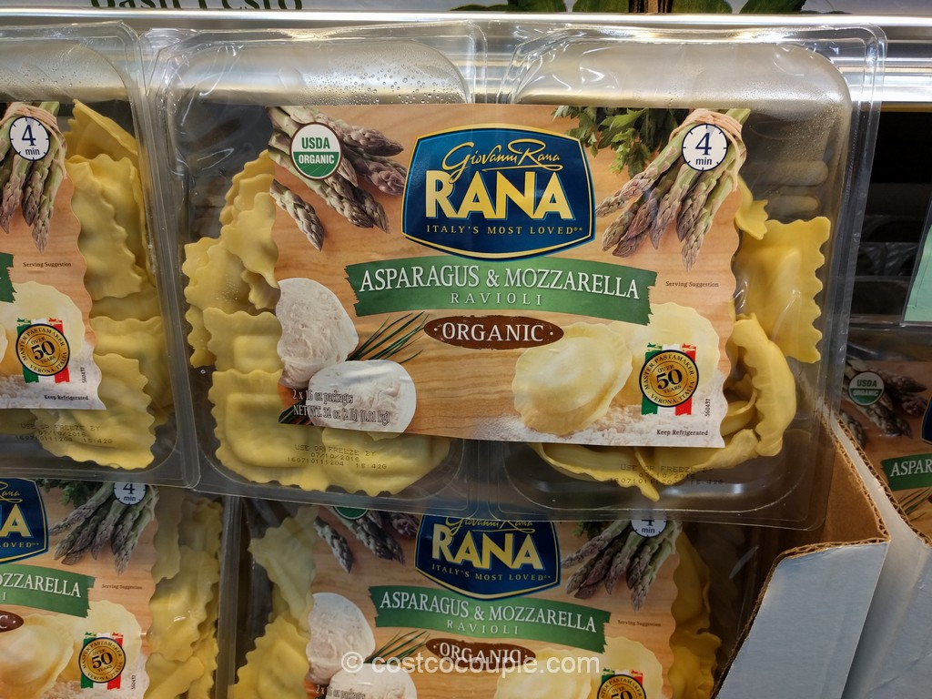 Rana Organic Asparagus and Mozzarella Ravioli Costco 4
