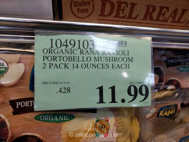 Rana Organic Portobello Mushroom Ravioli Costco 2