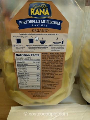 Rana Organic Portobello Mushroom Ravioli Costco 3