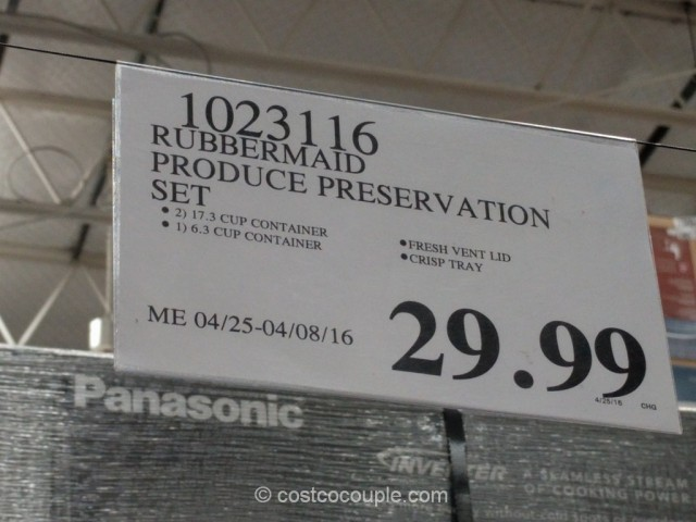 Rubbermaid Fresh Works Produce Saver Costco 1