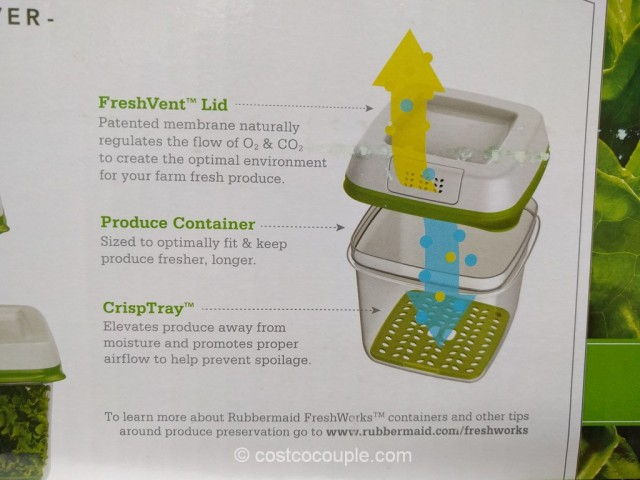 Rubbermaid Fresh Works Produce Saver Costco 3