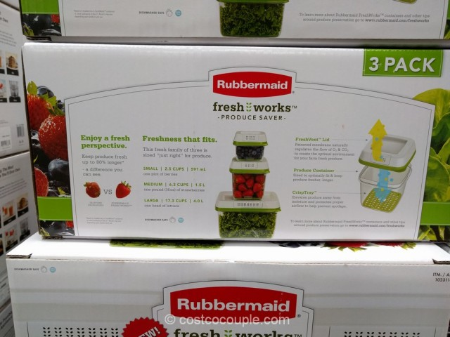 Rubbermaid Fresh Works Produce Saver Costco 5