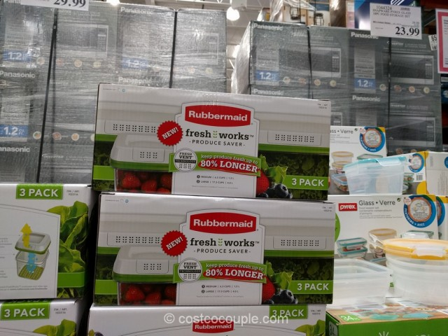 Rubbermaid Fresh Works Produce Saver Costco 6