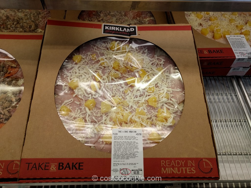 Take and Bake Hawaiian Pizza Costco 3