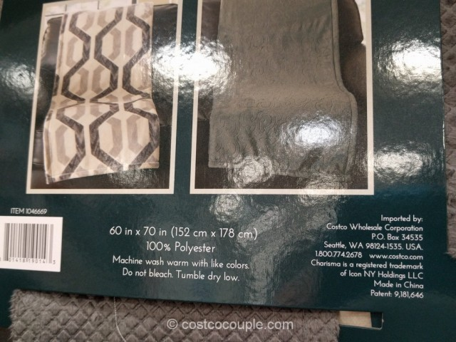 Charisma Plush Throw Costco 6