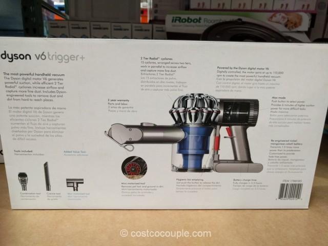 Dyson V6 Trigger + Handheld Vacuum Costco 2