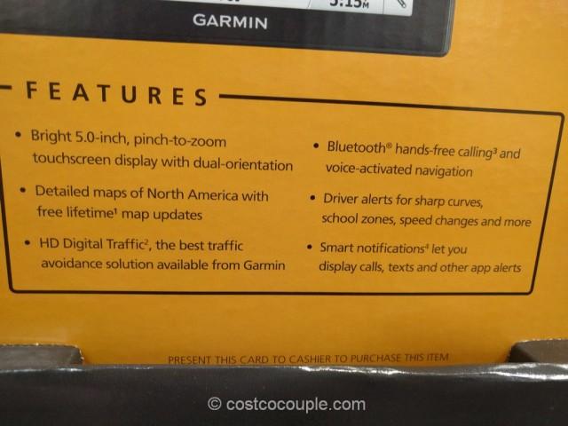 Garmin DriveSmart 50 Costco 4