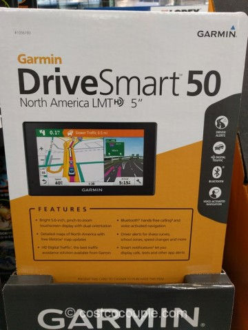 Garmin DriveSmart 50 Costco 5