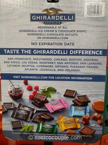 Gift Card Ghirardelli Costco 2